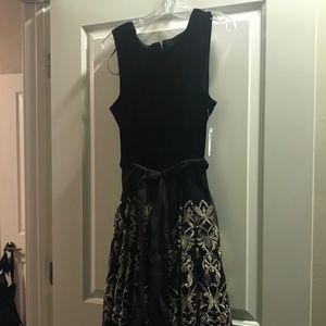 Elegant and festive party dress